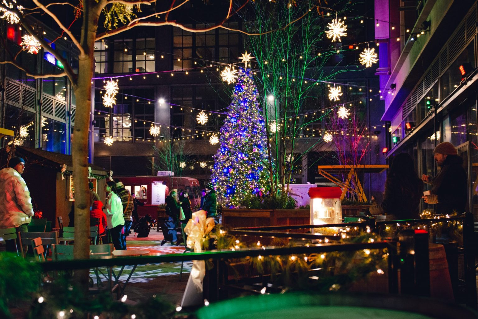 East Market Christmas SnowWalk
